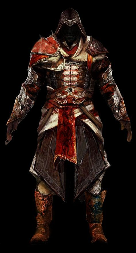 AC:R Oriental Armor by britolitos96