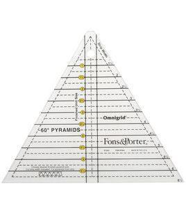 Dritz Fons and Porter Pyramid Ruler
