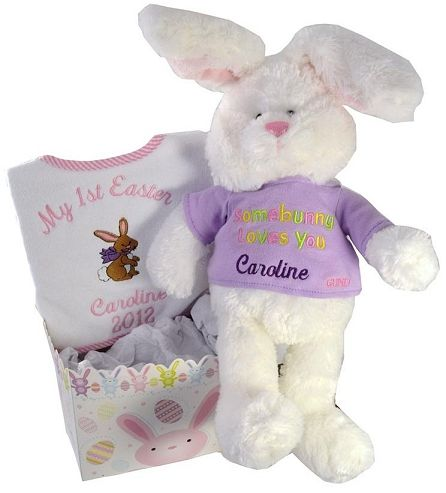 decortive ester ccents easter rabbit decor bunny.htm personalized hoppy easter bunny gift set   a personalized my  personalized hoppy easter bunny gift