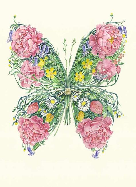 The Butterfly Effect is a concept that small causes can have large effects. Edward Lorenz coined the term and gave the example of a butterfly flapping its wings in The South Africa  and causing a hurricane in New York several weeks later. Watercolour paintingof a Butterflyby Daniel Mackie. Printed on High qualit