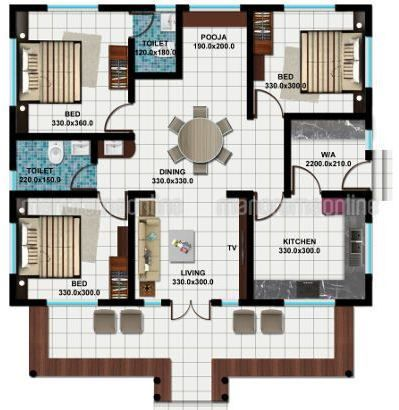 3 Bedroom Budget Traditional Style Kerala House Plan With Latest Facilities Explore Traditional House Plans Kerala Houses Kerala House Design My House Plans