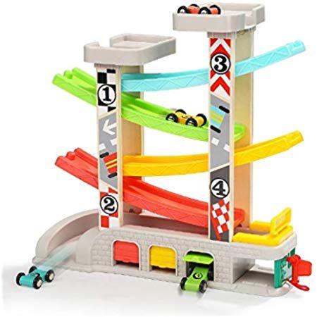 Top Bright Kugelbahn Autos Holz Ab 1 Jahr Auto Rennbahn Holz Spielzeug Holz Kinderspielzeug 1 Jahr Jungen Spielzeug Kugelbahn Holzkugelbahn