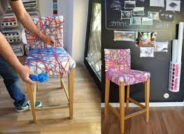Resultado De Imagen Para Ideas De Como Forrar Las Sillas De Hierro Del Comedor Diy Home Improvement Home Diy Furniture Inspiration