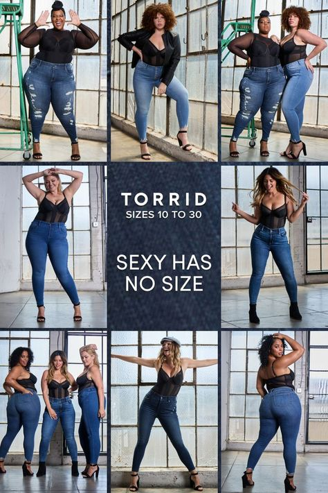 With so many styles, you're bound to find the perfect pair. Made by @Torrid for sizes 10 - 30. #ad