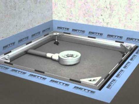 Installieren Sie Eine Ebenerdige Dusche Diy Dusche Einbauen Ebenerdige Dusche Dusche