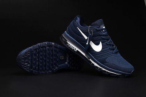 Nike Air Max 2017 Dark Blue Men Shoes | Nike air shoes, Nike
