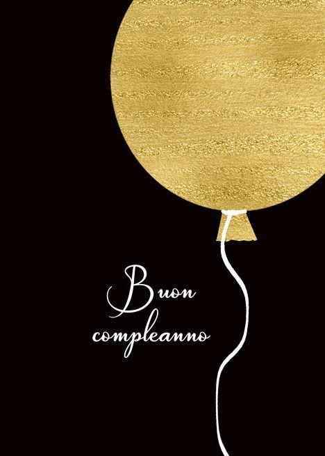 Happy Birthday In Italian Buon Compleanno Gold Glitter Foil Effect Card Ad Aff Happy Birthday Italian Happy Birthday In German Happy Birthday In Scottish