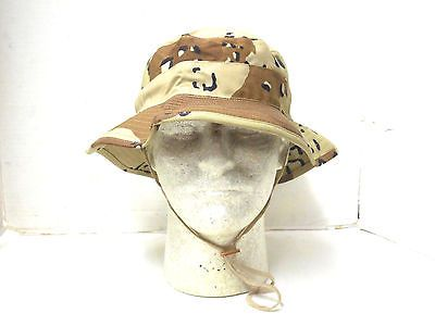 CHIP DESERT STORM BOONIE HAT 7 1 2 for USD19.95  Collectibles  Militaria   Desert  BERNARD Like the NEW USGI BERNARD CAP CO. 6 COLOR CHOC. 99be65b6e12
