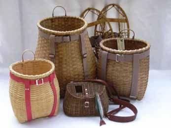 Adirondack Basketry ~ fishing creels & Pack baskets