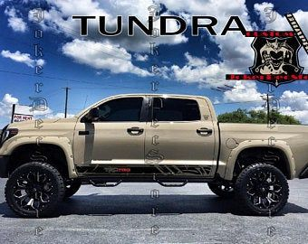 Toyota TRD 4X4 Limited 2016 2017 Tacoma Tundra Truck Pair Decals Stickers Vinyl