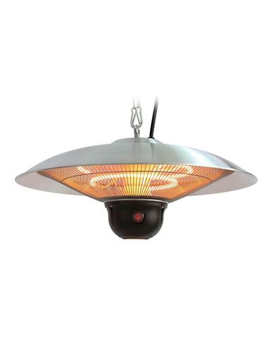 Energ Infrared Electric Outdoor Aluminium Hanging Heater Black Ambient Lighting Electrical Supplies Led Lights