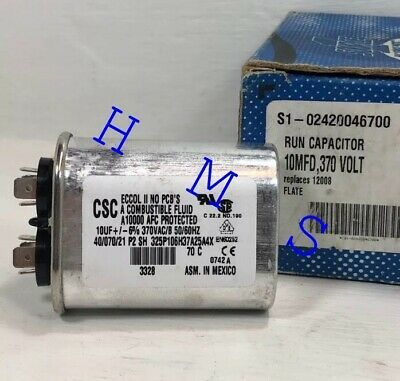 Ad Ebay York Coleman Flat Single Run Capacitor Replaces 12008
