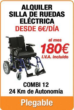 Oferta Alquiler Sillas De Ruedas Electricas Alquiler Sillas