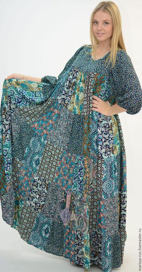 146b76a7d30 Платья ручной работы. Ярмарка Мастеров - ручная работа. Купить Лоскутное  платье