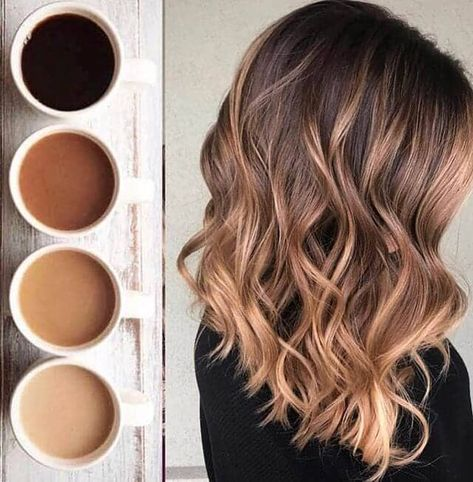 Awesome Ombre Hair with Modern Waves