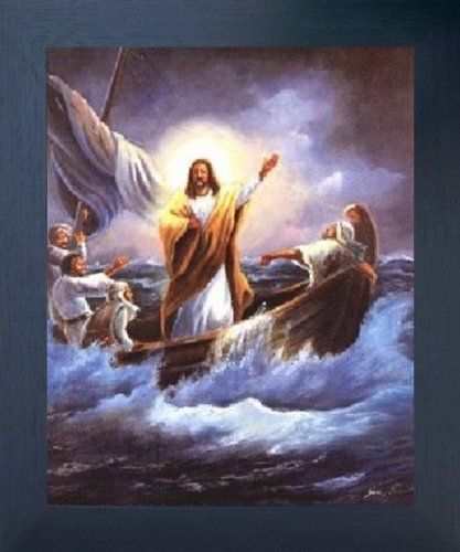 Jesus Christ Calming the Sea Femrite Religious and Spiritual Art Print Poster & The 112 best Religious Framed Art Pictures images on Pinterest ...