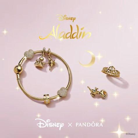 Sultan's Palace, Pandora Disney Aladdin Agrabah Castle Dangle Charm - Seven Season