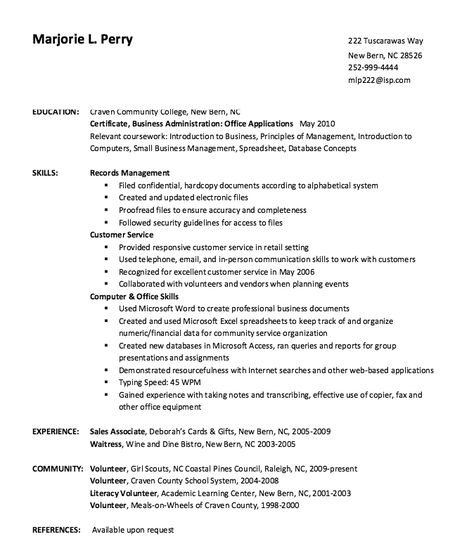 Dine Bistro Waitress Resume Sample -    resumesdesign dine - photography resume samples