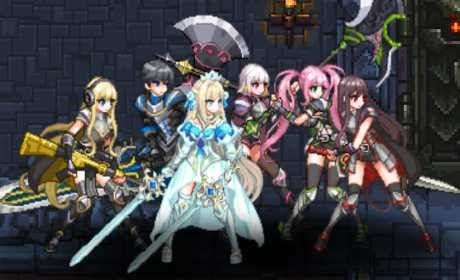 Dungeon Princess Is A Role Playing Game For Android Download Last Version Of Dungeon Princess Apk Data For Android From Anime Game Download Free Battle Games