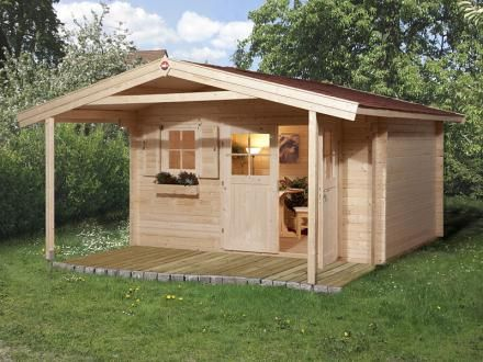 Outdoor-Küche mit großer Terrasse Remo 2 Moderne gartenhäuser - outdoor küche kaufen