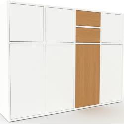 Anrichte Weiss Anrichte Schubladen In Eiche Turen In Weiss Hochwertige Home Decor Decor Furniture