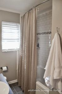Delicieux Oversized Shower Curtain Rod