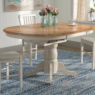 Extendable White Kitchen Dining Tables You Ll Love Wayfair