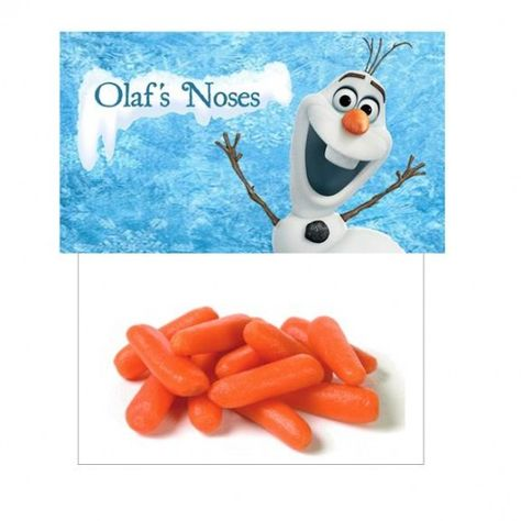 Frozen party favors Olaf noses bag from shopsweetums.com Featured @ www.partyz.co !