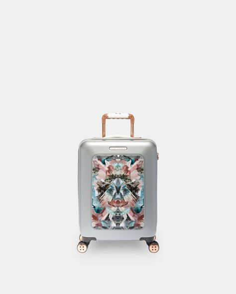 a1ddc7bd294b Mirrored Minerals small suitcase - Mid Grey