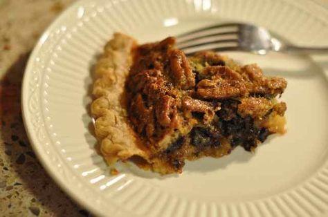 Cracker Barrel Chocolate Pecan Pie