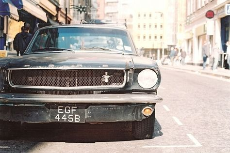 Beautiful Classic Car Photography Vintage Mustang Moto Verso