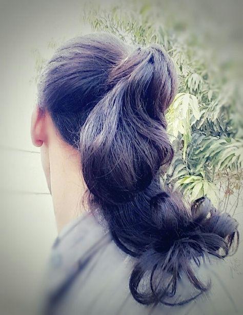 Hair Style Hairstyle Tie Ponytail تسريحة الشعر المربوط ربط الشعر تسريحة شعر ذيل الحصان