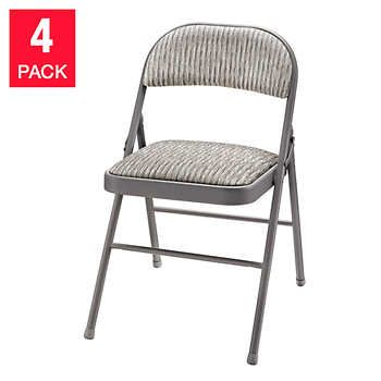 Meco Upholstered Folding Chair 4 Pack Folding Chair Chair Adirondack Chairs For Sale