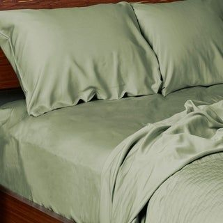 Bedvoyage Premium Rayon Viscose Bamboo Sheets 4pc Bed Sheet Set