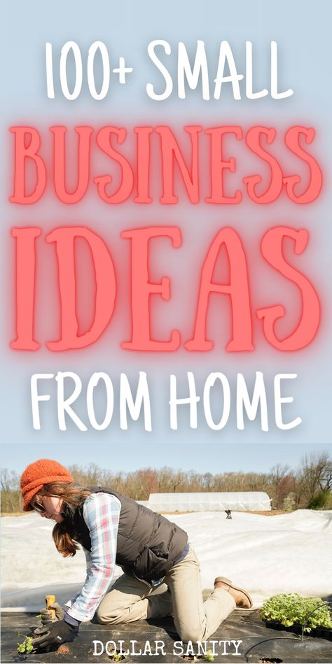 Small Business Ideas for Women, Teens and Men