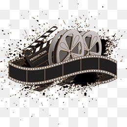 Ilustracao Vetorial De Filme Antigo Em 2020 Fita De Cinema