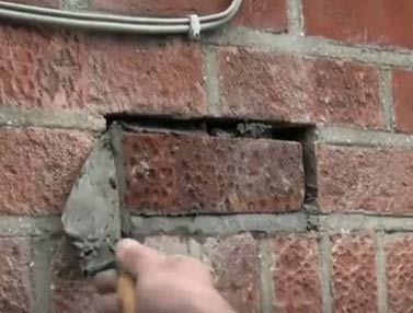 Replacing Damaged Bricks In Walls In 2020 Diy Doctor Diy Wall Fence