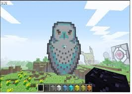 How To Make Pixel Art In Minecraft Bedrock Image Result For Minecraft Avatar Owl Pixel Art Pixel Art Avatar Willis Tower