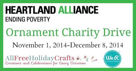 Heartland Alliance Handmade Ornament Drive