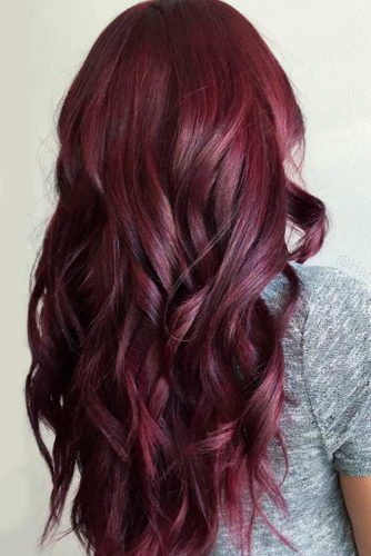 29 Burgundy Hair Styles Find The Best Shade For Your Skin Tone Hair Color Plum Deep Red Hair Burgundy Hair
