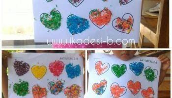 Kolase Dari Beras Warna Adapun Warna Gambar Kolase Bisa Kita Aplikasikan Dari Kertas Warna Pita Kain Warna Warni Dan Warna Kolase Menggambar Bunga Matahari