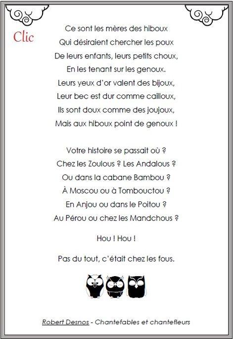 Poésie Les Hiboux Robert Desnos : poésie, hiboux, robert, desnos, Pluriel, Noms,, Pluriel,