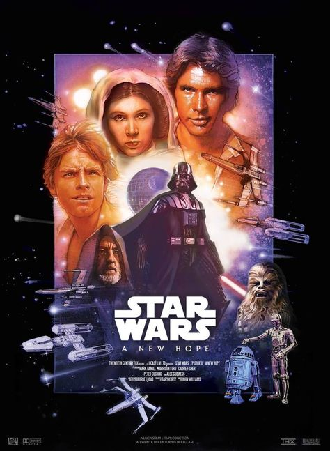 Star Wars IV : A New Hope - Movie Poster by nei1b on DeviantArt