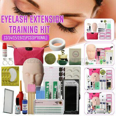Advertisement 13 14 15 19 21pcs Pro Eyelash Extension Makeup Practice Mannequin Training In 2020 Eyelash Extensions Eyelash Extension Kits Eyelash Extension Training