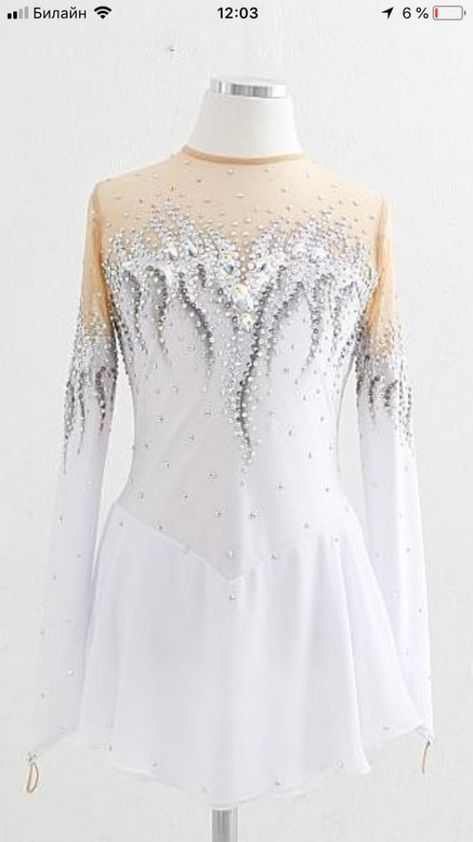 White Ice Dressses Custom Women Skating Dresses for Girls - You are in the right place about Ice Dresses, Ice Skating Dresses, Girls Dresses, Figure Skating Outfits, Figure Skating Costumes, Skate Wear, Ao Dai, Dance Outfits, Roller Derby