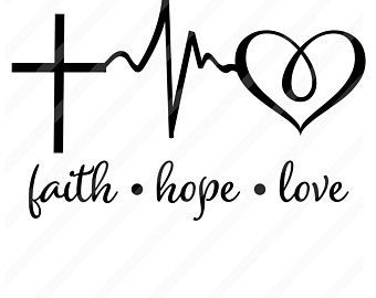 Svg Etsy Hope Tattoo Faith Hope Love Tattoo Faith Tattoo