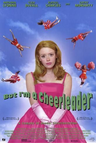 Poster: But I'm a Cheerleader, 40x27in.