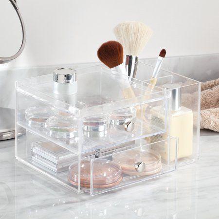 Home Clear Makeup Organizer Makeup Organization Bathroom