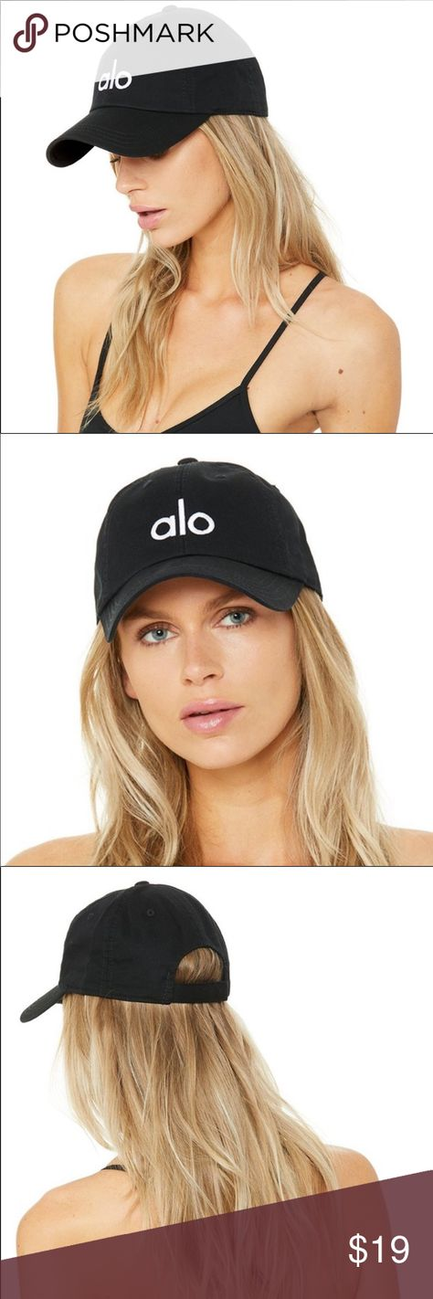 Alo Yoga Hat NWT Black and White W7112R size One Size Free
