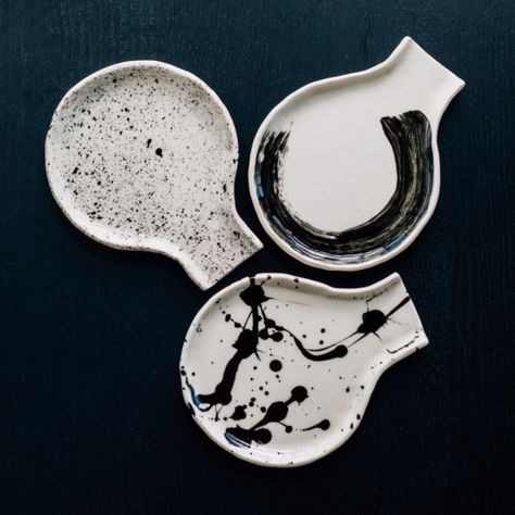 Tableware, including modern ceramics, durable linens, unique cheese boards and Mug Crafts, Clay Crafts, Ceramic Spoons, Ceramic Art, Pottery Videos, Modern Ceramics, Spoon Rest, Creations, Mugs